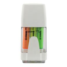 تصویر ماژیک هایلایتر بسته 6 رنگ استابیلو مدل 275/06-31
