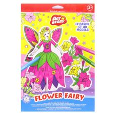 تصویر ست ماژیک نقاشی آرت بری 6 رنگ مدل Flower Fairy