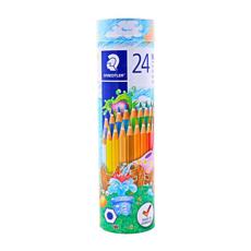 تصویر مداد رنگی استدلر 24 رنگ مدل noris